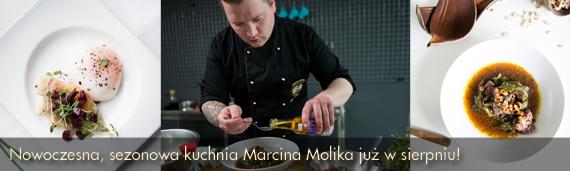Marcin Molik szef kuchni Drukarni gotuje z nami od sierpnia