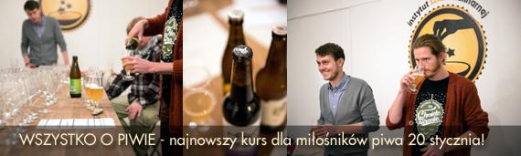 najnowszy kurs dla miłośników piwa