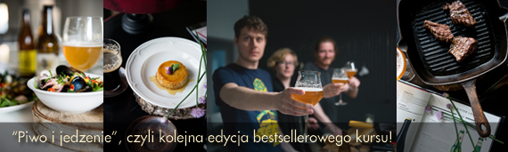 kurs kulinarny piwo i jedzenie
