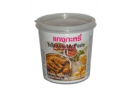 Pasta Curry Żółta (Yellow Curry Paste) 400g LOBO